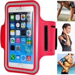 Dėklas sportui (raištis ant rankos) - raudonas (L dydis)