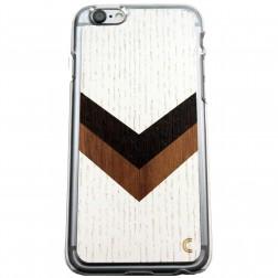 """""""Crafted Cover"""" natūralaus medžio dėklas - Sparnai (iPhone 6 / 6s)"""