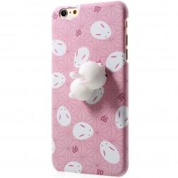 """""""Squezy"""" Rabbit dėklas - rožinis (iPhone 6 / 6S)"""