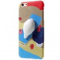 """""""Squezy"""" Sea Lion kieto silikono (TPU) dėklas - rudas (iPhone 6 / 6S)"""