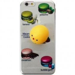 """""""Squezy"""" Yolk kieto silikono (TPU) dėklas - skaidrus (iPhone 6 / 6S)"""