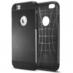 Sustiprintos apsaugos dėklas - juodas (iPhone 6 / 6s)