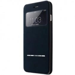 """""""Vili"""" S View Cover atverčiamas dėklas - juodas (iPhone 6 / 6s)"""