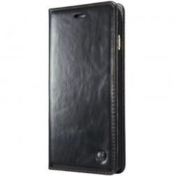 """""""CaseMe"""" solidus atverčiamas dėklas - juodas (iPhone 6 Plus / 6s Plus)"""