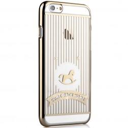 """""""Devia"""" Love&Fun dėklas - auksinis (iPhone 6 / 6S)"""