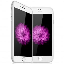 """""""Devia"""" 9H Tempered Glass apsauginis ekrano stiklas 0.33 mm - baltas + nugarėlės plėvelė (iPhone 6 / 6S)"""