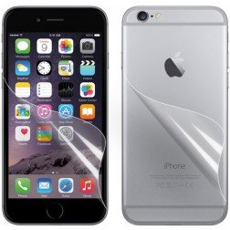 """""""ISME"""" apsauginės ekrano ir nugarėlės plėvelės - skaidrios (iPhone 6 / 6s)"""
