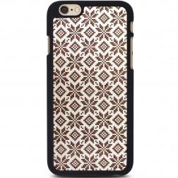 """""""Crafted Cover"""" natūralaus medžio dėklas - Etno II (iPhone 6 / 6s)"""