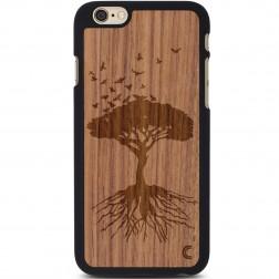 """""""Crafted Cover"""" natūralaus medžio dėklas - Medis (iPhone 6 / 6s)"""