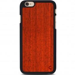 """""""Crafted Cover"""" natūralaus medžio dėklas - Padauk (iPhone 6 / 6s)"""