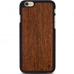 """""""Crafted Cover"""" natūralaus medžio dėklas - Sukupira (iPhone 6 / 6s)"""