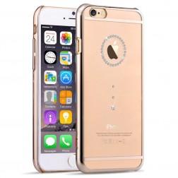 """""""Devia"""" Diamante Swarovski dėklas - auksinis (iPhone 6 / 6S)"""