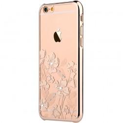 """""""Devia"""" Rococo Swarovski dėklas - auksinis (iPhone 6 / 6S)"""