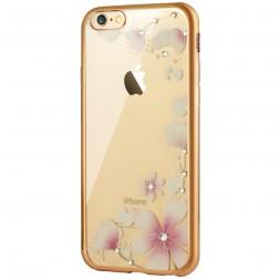 """""""JLW"""" Magnolia silikoninis (TPU) dėklas - skaidrus (iPhone 6 / 6s)"""