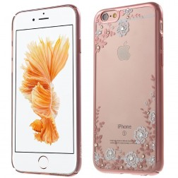 """""""Kavaro"""" Flowers dėklas - rožinis (iPhone 6 / 6S)"""