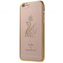 """""""Kavaro"""" Swan dėklas - auksinis (iPhone 6 / 6S)"""