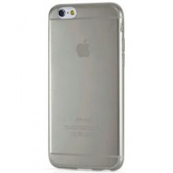 Ploniausias TPU skaidrus dėklas - pilkas (iPhone 6 / 6S)