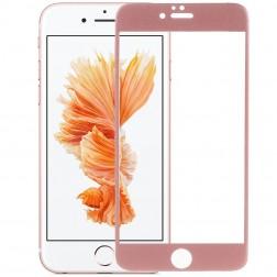 """""""Devia"""" 9H Tempered Glass apsauginis ekrano stiklas 0.33 mm - rožinis + nugarėlės plėvelė (iPhone 6 Plus / 6S Plus)"""