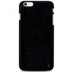 """""""Crafted Cover"""" natūralaus medžio dėklas - juodas (iPhone 6 Plus / 6s Plus)"""