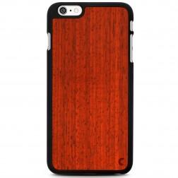 """""""Crafted Cover"""" natūralaus medžio dėklas - Padauk (iPhone 6 Plus / 6s Plus)"""