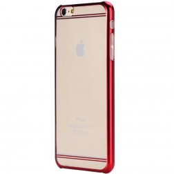 """""""ROCK"""" Neon dėklas - raudonas (iPhone 6 Plus / 6S Plus)"""