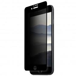 """""""Remax"""" Tempered Glass juodas apsauginis ekrano stiklas 0.26 mm - privatumo (iPhone 7 / 8)"""