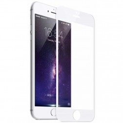 """Mocolo"" 9H Tempered Glass apsauginis ekrano stiklas 0.3 mm - baltas (iPhone 6 / 7 / 8)"