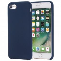 """Shell"" kieto silikono (TPU) dėklas - mėlynas (iPhone 7 / 8 / SE 2020)"