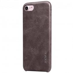 """""""X-Level"""" Vintage dėklas - tamsiai rudas (iPhone 7 / 8 / SE 2020)"""