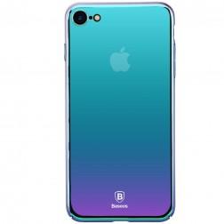 """""""Baseus"""" Mirror Glass dėklas - smaragdinis (iPhone 7 / 8)"""
