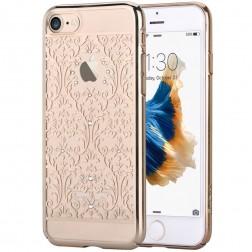 """""""Devia"""" Baroque Swarovski dėklas - auksinis (iPhone 7 / 8)"""