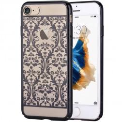 """""""Devia"""" Baroque Swarovski dėklas - juodas (iPhone 7 / 8)"""