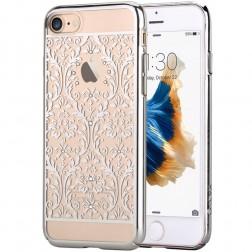 """""""Devia"""" Baroque Swarovski dėklas - sidabrinis (iPhone 7 / 8)"""