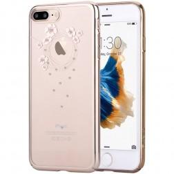 """""""Devia"""" Garland Swarovski dėklas - auksinis (iPhone 7 / 8)"""