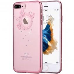 """""""Devia"""" Garland Swarovski dėklas - rožinis (iPhone 7 / 8)"""