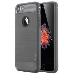 """""""IPAKY FASHION"""" kieto silikono (TPU) dėklas - tamsiai pilkas (iPhone 7 / 8)"""