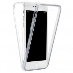 Pilnai dengiantis TPU dėklas - skaidrus (iPhone 7 Plus / 8 Plus)