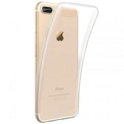Kieto silikono (TPU) dėklas - skaidrus (iPhone 7 Plus / 8 Plus)