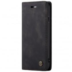 """""""CaseMe"""" Retro solidus atverčiamas dėklas - juodas (iPhone 7 Plus / 8 Plus)"""