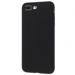 Ploniausias TPU dėklas - juodas (iPhone 7 Plus / 8 Plus)