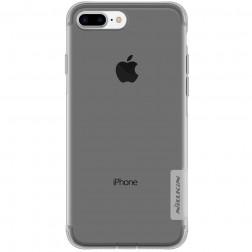 """""""Nillkin"""" Nature TPU skaidrus dėklas - pilkas (iPhone 7 Plus)"""