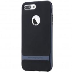 """""""Rock"""" Royce dėklas - juodas / mėlynas (iPhone 7 Plus / 8 Plus)"""