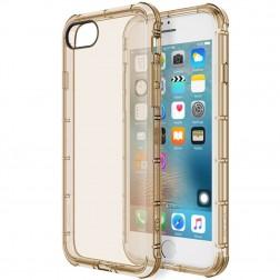 """""""Rock"""" Fence skaidrus dėklas - auksinis (iPhone 7 / 8)"""