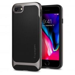 """Spigen"" Neo Hybrid Herringbone dėklas - juodas (iPhone 7 / 8)"