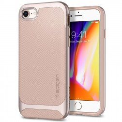 """Spigen"" Neo Hybrid Herringbone dėklas - rožinis (iPhone 7 / 8)"