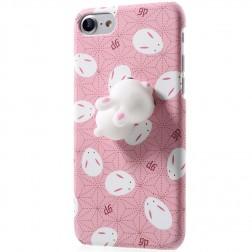 """""""Squezy"""" Rabbit dėklas - rožinis (iPhone 7)"""