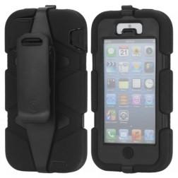 """Griffin"" Survivor dėklas - juodas (iPhone 5 / 5S / SE)"