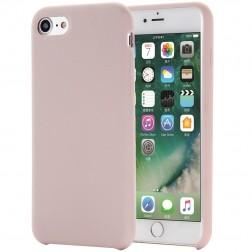 """""""Shell"""" kieto silikono (TPU) dėklas - rožinis (iPhone 7 / 8 / SE 2020)"""