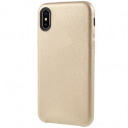 Soft Slim dėklas - auksinis (iPhone X / Xs)