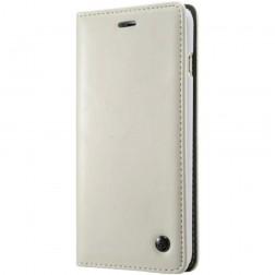 """""""CaseMe"""" solidus atverčiamas dėklas - baltas (iPhone X)"""